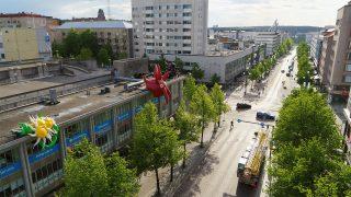 Väliaikaisen julkisen taiteen kierros Jujut avautuu torstaina 10.6.